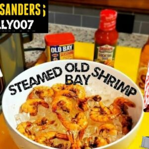STEAMED SHRIMP at home NINJA FOODI how to steam seafood OLD BAY Seasoning Recipe Real Steam Review