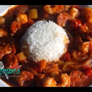 How to make Shrimp & Sausage Creole - Southern & Soul Food Recipes - I Heart Recipes