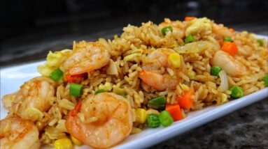 How to Make Shrimp Fried Rice EASY| Chinese Fried Rice Recipe| Better Than Take Out