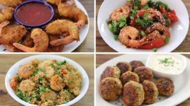 4 Easy Shrimp Recipes