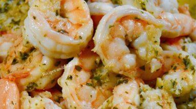 5 Minutes Dinner Garlic Shrimp