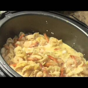 7 Minute Shrimp Alfredo Under Pressure