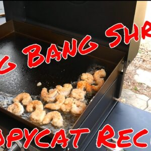 Bang Bang Shrimp - Blackstone Griddle Recipe