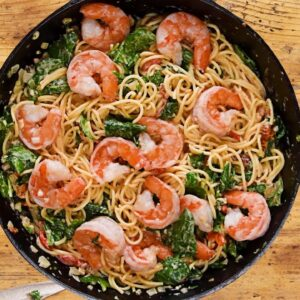 Creamy Tuscan Shrimp Pasta | Easy Pasta Recipes for Beginners | So Yummy