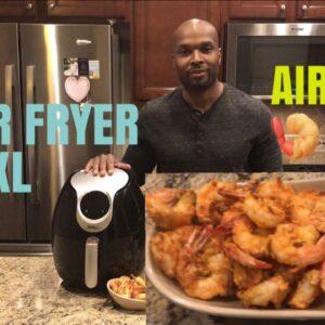 CRISPY Air Fried Shrimp | SEMI- KETO FRIENDLY | POWER AIR FRYER XL |