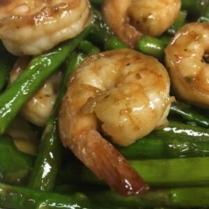 Easy Stir Fry Shrimp with Asparagus Recipe