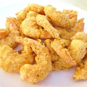 Crispy Fried Shrimp - Southern Restaurant Secrets for Home Cooking - PoorMansGourmet