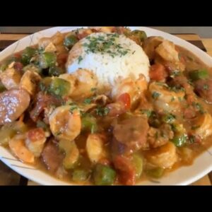 Gumbo Recipe Chicken Sausage and Shrimp