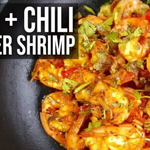 How to cook Rum Pepper Shrimp | Recipe