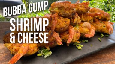 How to cook Ultimate Bubba Gump Shrimp & Cheese | Recipe | BBQ Pit Boys