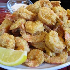 How to make Louisiana Fried Shrimp with Homemade Dipping Sauce