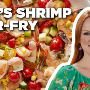How to Make Ree's 10-Minute Shrimp Stir-Fry | Food Network