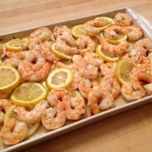 How to Make Roasted Shrimp with Lemon & Garlic (recipe included)