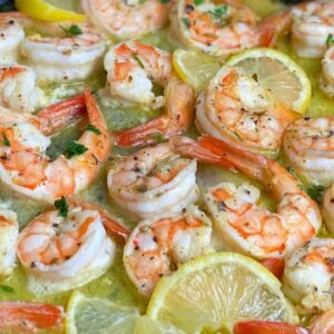LEMON BUTTER SHRIMP || 10  MINUTE SHRIMP RECIPES || TERRI-ANN'S KITCHEN
