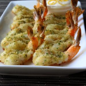 Prawn Provencale - Baked Garlic and Herb Shrimp Appetizer