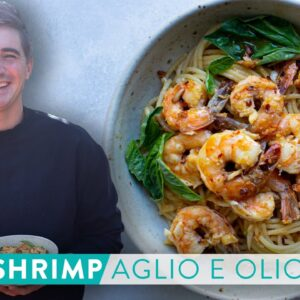 RECIPE: QUICK FIX Spicy Shrimp Aglio E Olio!