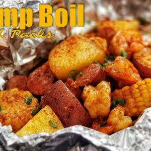 Shrimp Boil | Seafood Boil | Foil Packets