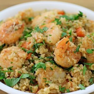 Shrimp Cauliflower Rice Recipe