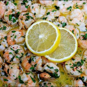SHRIMP SCAMPI | Garlic Butter Shrimp Recipe | Easy Dinner Ideas