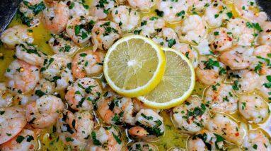SHRIMP SCAMPI | Garlic Butter Shrimp Recipe | Easy Dinner Ideas