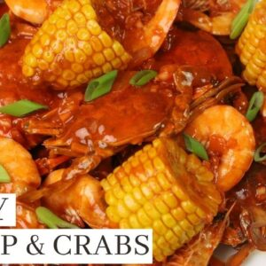 SPICY SHRIMP AND CRABS - Seafood Recipes
